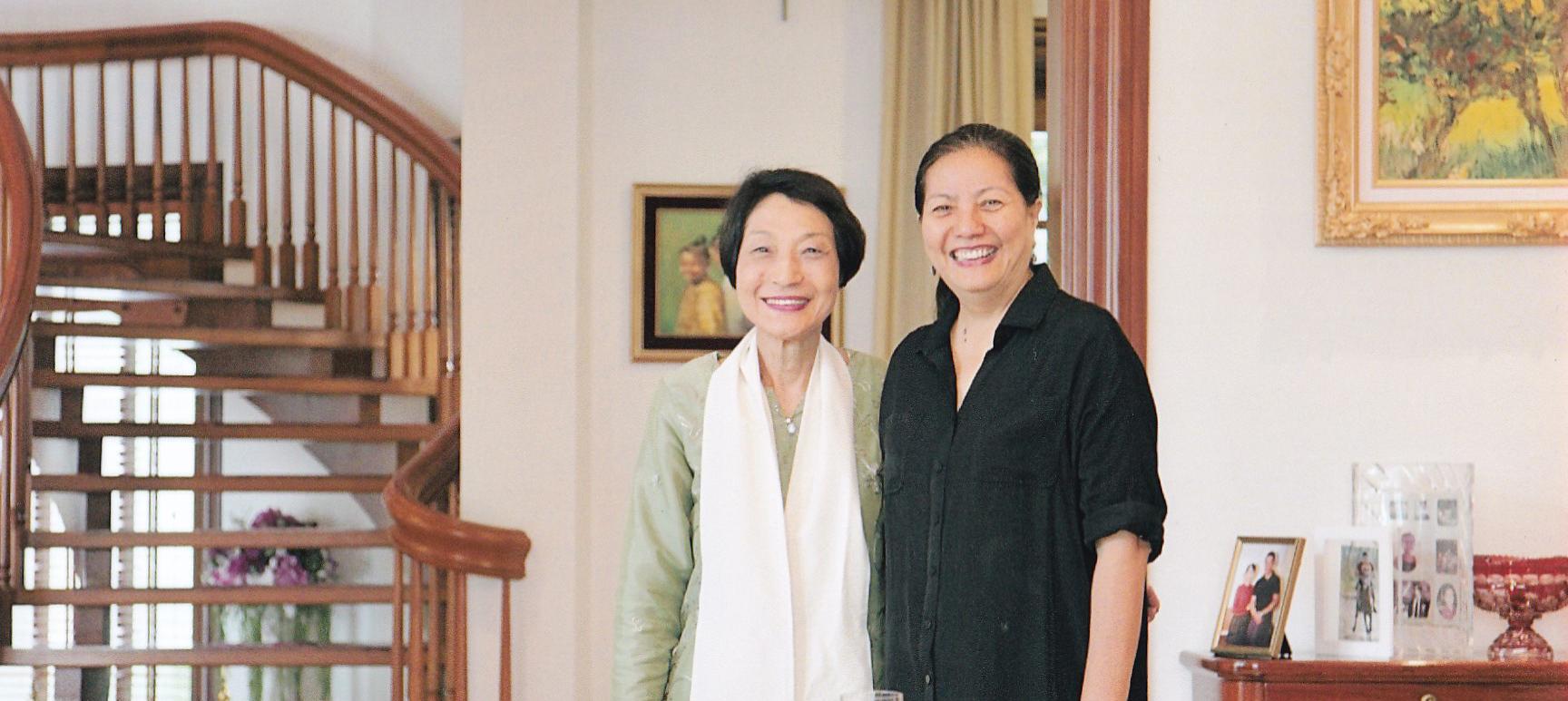 ドクター・オマモエミン(Dr. Ohmar Moe Mint)女史とビルマ応援の会代表宮下夏生